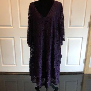 Catherine's 2 Tier Lace Dress Size 4X